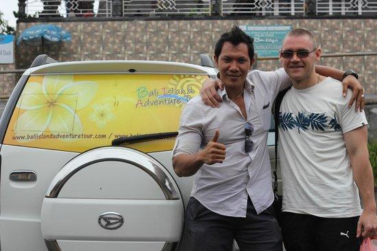 Bali Island Adventure Tours : А это сам Gede - лучший экскурсовод на Бали!!!