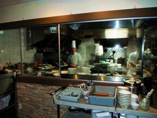 J & J Wonton Noodle House : Kitchen & Chef