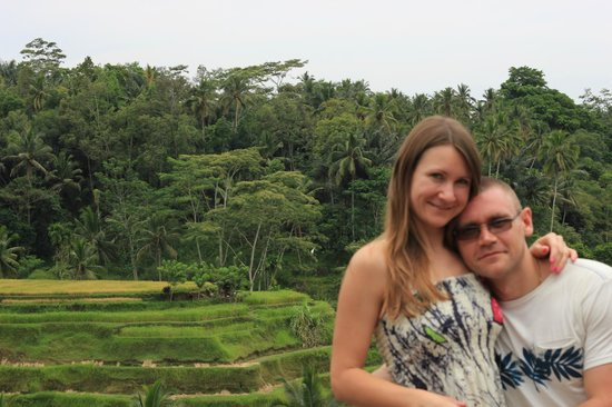 Bali Island Adventure Tours : Рисовые поля