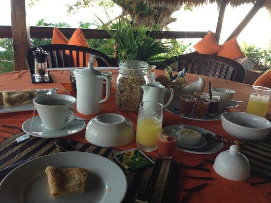 Manga Soa Lodge : petit déjeuner
