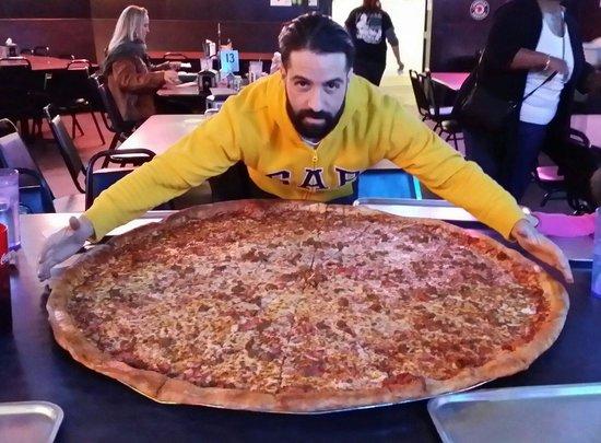 Big Lou's Pizza : La pizza