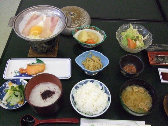 Hotel New Ikaho : 2日目の朝食