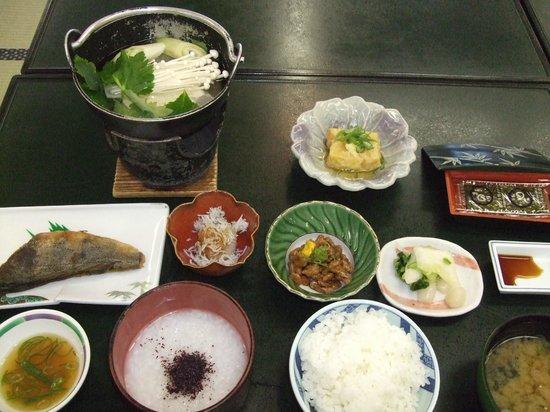 Hotel New Ikaho : 3日目の朝食