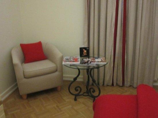 Angleterre Hotel : в номере
