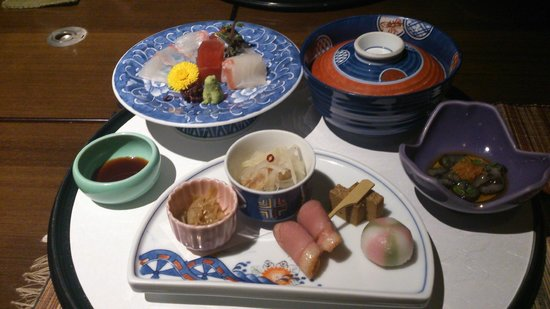 Hakuba Tokyu Hotel: 和食の夕食