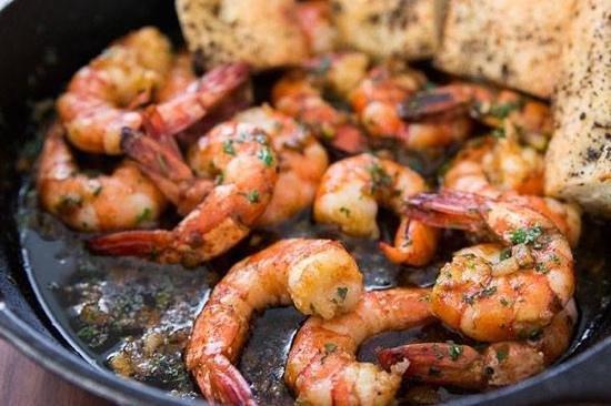 Canos Tapas Cocina : fried shrimps