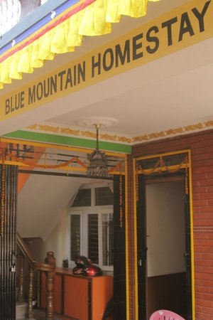 Blue Mountain Homestay: Entrance
