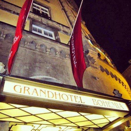 Grand Hotel Bohemia : 正面
