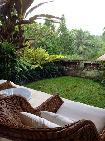 COMO Uma Ubud: Beautiful garden inside my room
