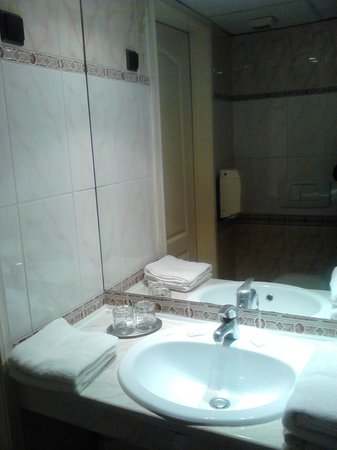 City Hotel Unio: раковина