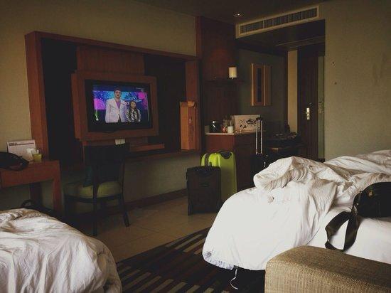 Ashlee Hub Hotel Patong: 7fh floor room