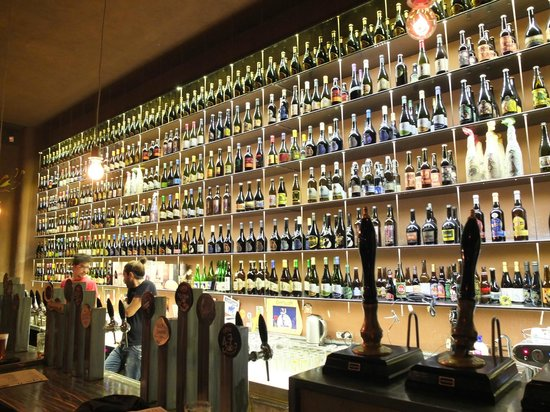 Open Baladin : The bottle selection was impressive