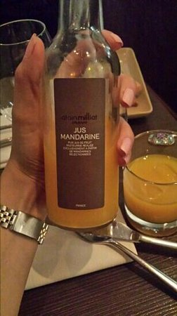 Barbacoa : mandarinjuice, riktigt god!