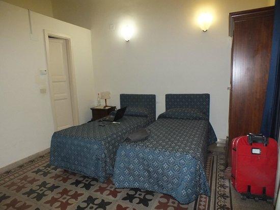 La Residenza Hotel: lettini comodi e confortevoli
