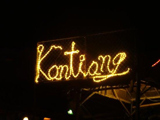 Kantiang Restaurant: Sicht von der Strasse aus