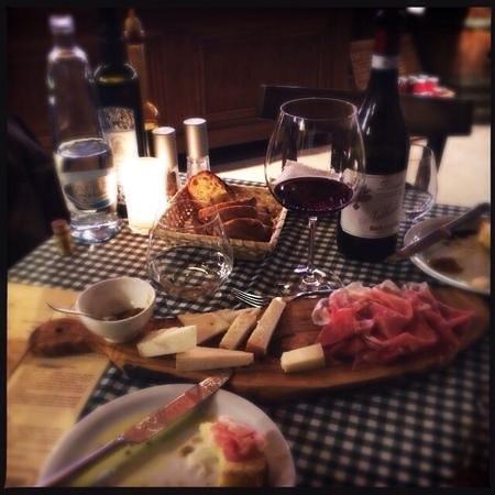 La Bottega Di Finestra : cheese and charcuterie plate, La Bottega