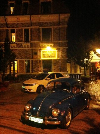 Saphir Dalat Hotel: in front of hotel