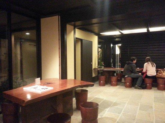 Kyomachiya Ryokan Sakura Honganji: The lobby area
