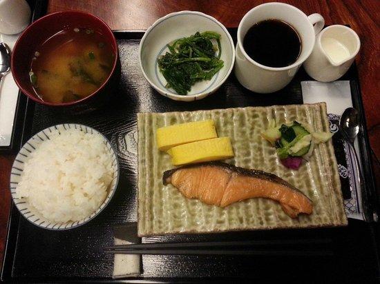 Kyomachiya Ryokan Sakura Honganji: Breakfast - Japanese Style priced at USD8.00