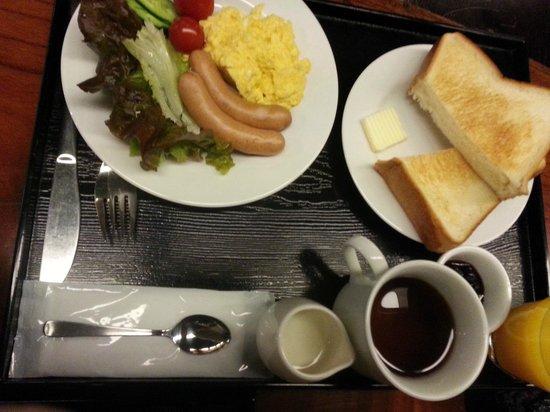 Kyomachiya Ryokan Sakura Honganji: Breakfast - Western Style priced at USD8