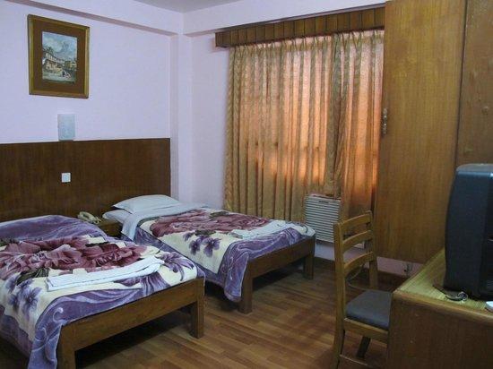 Tasi Dhargey Inn: My room number 401