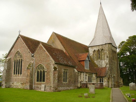 The Observatory Science Centre: The old church associated with Hurstmonceux Castle
