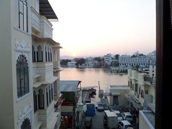 Jaiwana Haveli : View from room 52