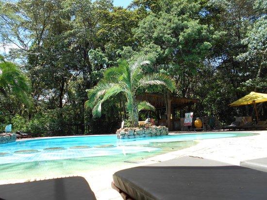 Sarova Mara Game Camp: View of pool area