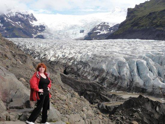 Fosshotel Nupar: Glacier at Skaftafell NP