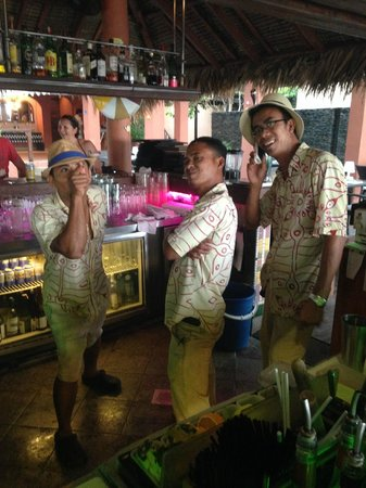 Casa del Mar, Langkawi: the awesome bartenders