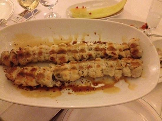 Sofram Fish Restaurant : шашлык из рыбы