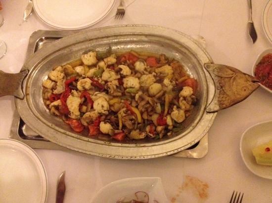 Sofram Fish Restaurant : рыба