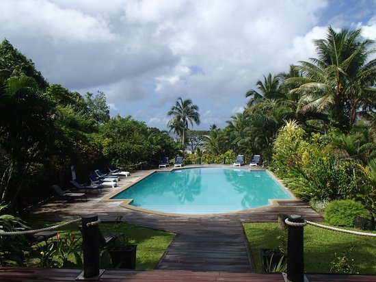 Wellesley Resort Fiji: view from the restaurant deck