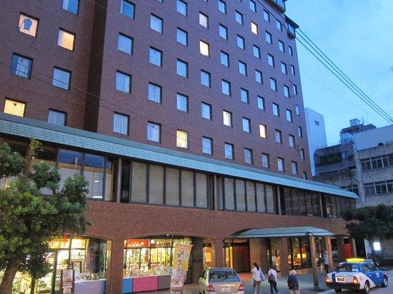 Nagasaki Washington Hotel: building