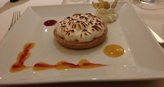 Logis Luccotel: Dessert. menu étape.