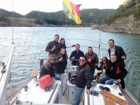 Restaurante Tajo del Aguila: Paseo en el velero
