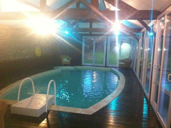 Les Granges d'Haillancourt : La piscine