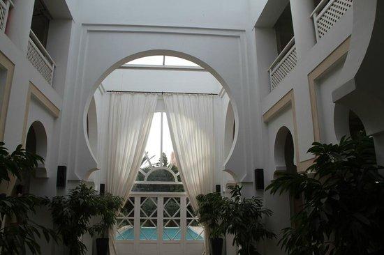 Riad des Golfs : Patio intérieur