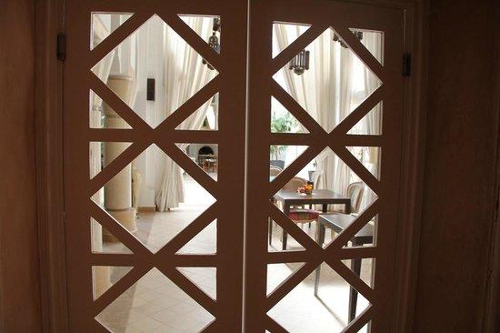 Riad des Golfs : Salons