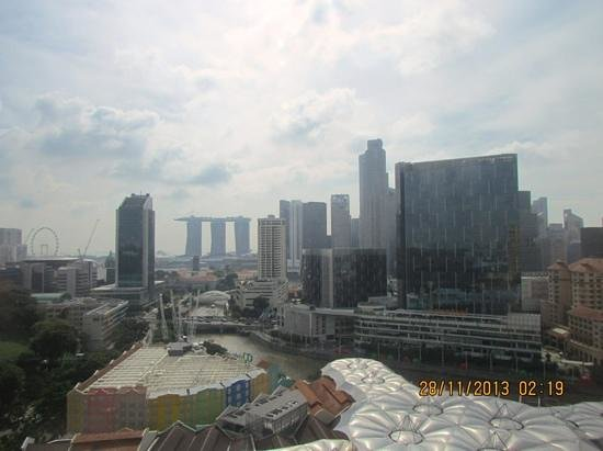 Novotel Singapore Clarke Quay: View from our room on l18