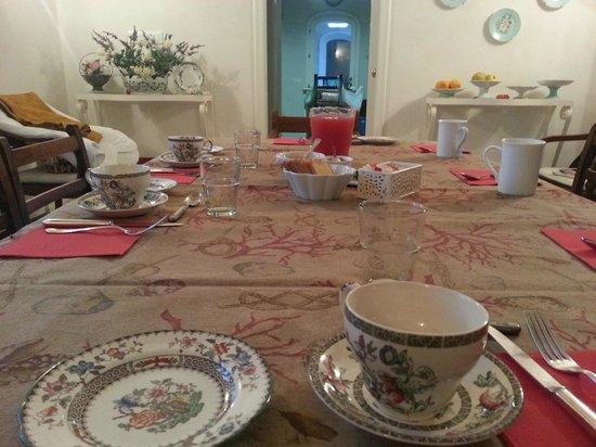 La Portazza Resort: La tavola della colazione