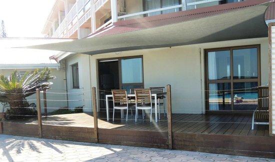 Hotel Le Stanley Noumea: Terrasse de la suite