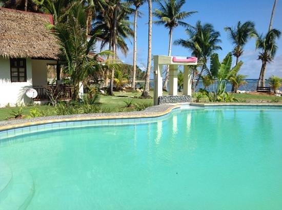 Island Dream Palm Paradise Resort: la piscine pour l'apres Surf