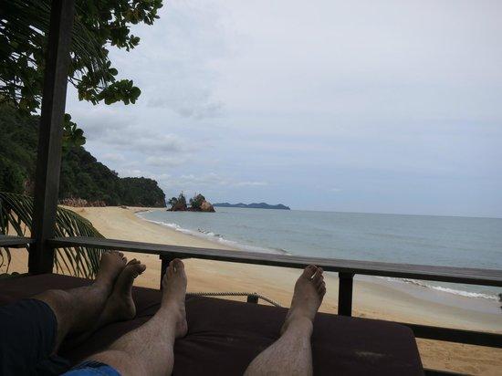 Club Med Cherating Beach: Private beach