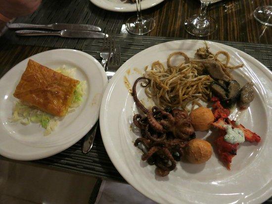 Club Med Cherating Beach: Yummy dinner