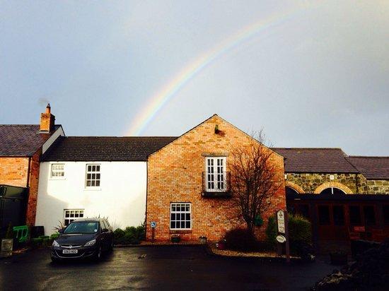 The Bushmills Inn Hotel: Rainbow over Hotel