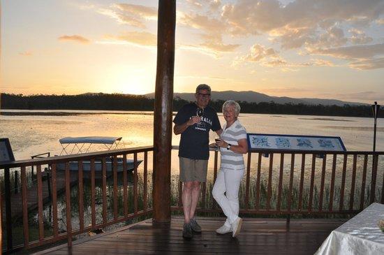 Jabiru Safari Lodge: dineren op het terras