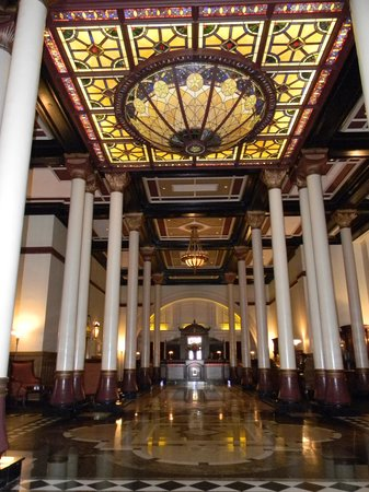 The Driskill: Hotel Hall