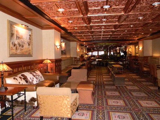 The Driskill: 2nd floor - restaurant