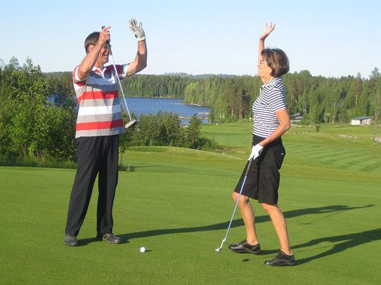 Lomakeskus Revontuli : Golf